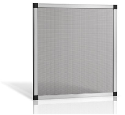 Zanzariera fissa con telaio in alluminio e rete for Iva su infissi