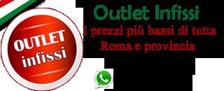 outletinfissi Roma vendita finestre porte blindate infissi ai migliori prezzi di tutta Roma e provincia